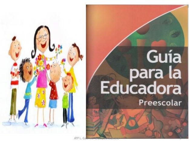 Guía para la educadora