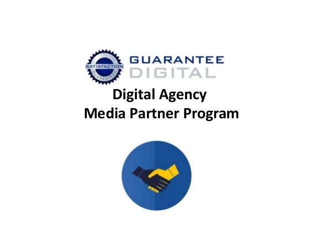 Digital Agency Media Partner Program