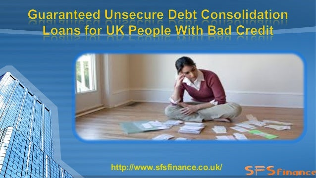 debt consolidation loans for people with bad credit - 3