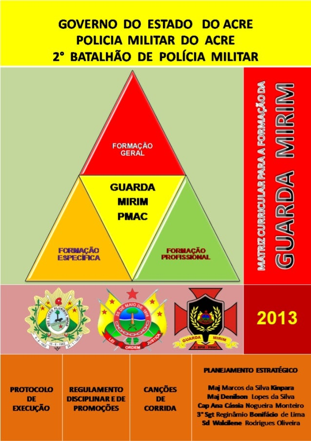 Guarda mirim   matriz curricular