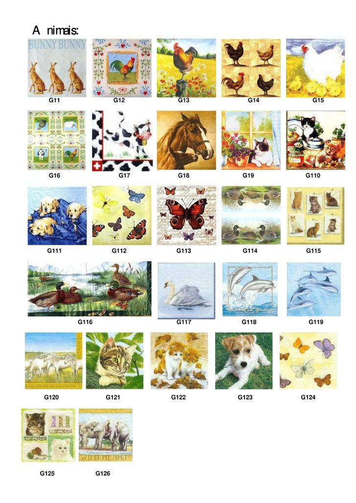 Animais:        G11                 G12     G13      G14      G15        G16                  G17    G18     G19     G110 ...
