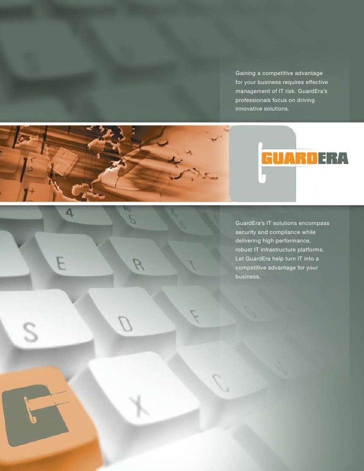 Guard Era Corp Brochure 2008