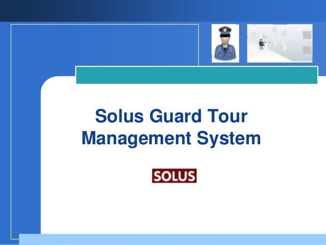 Guard tour management