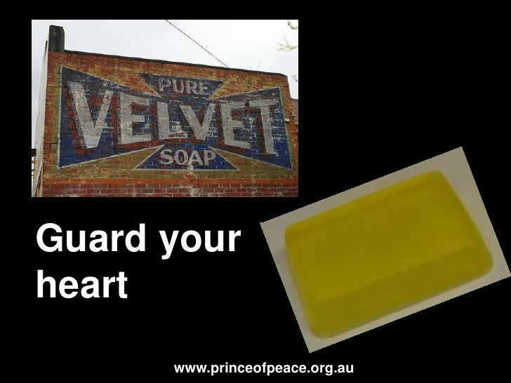 It's all in the heart (Part 1)<br />www.princeofpeace.org.au<br />