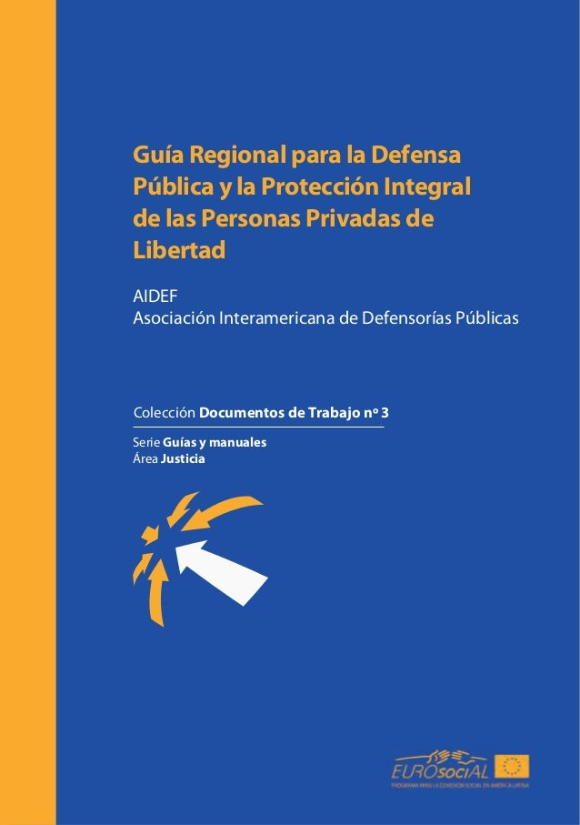 Guía Regional para la Defensa Pública y la Protección Integral de las Personas Privadas de Libertad AIDEF Asociación Inter...