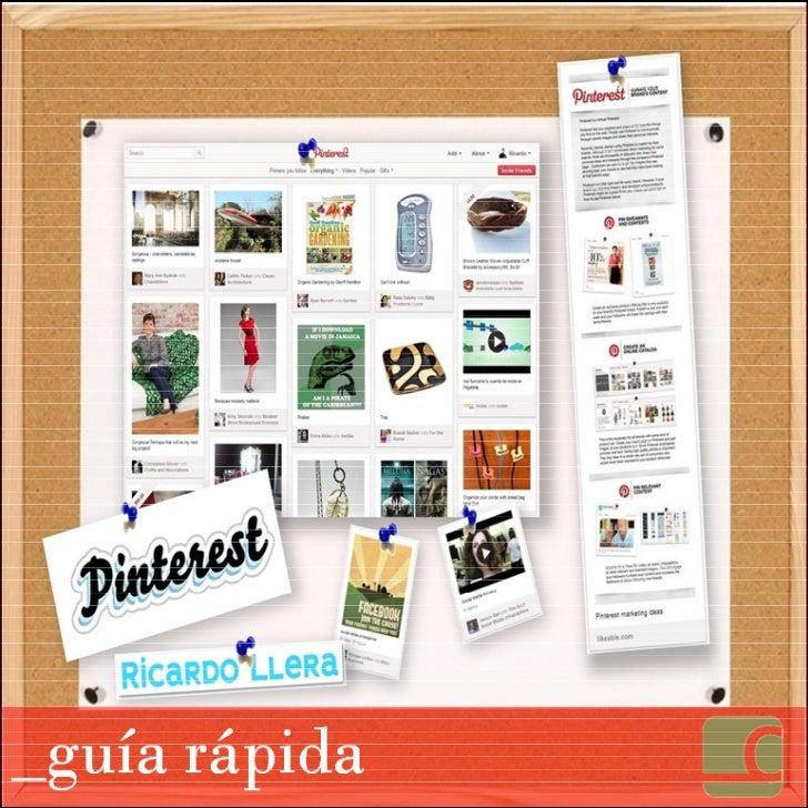 Guía rápida de Pinterest
