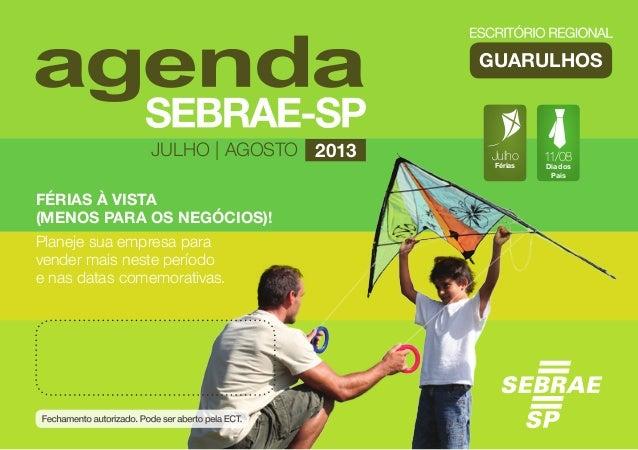 Agenda ER Guarulhos - Julho/Agosto