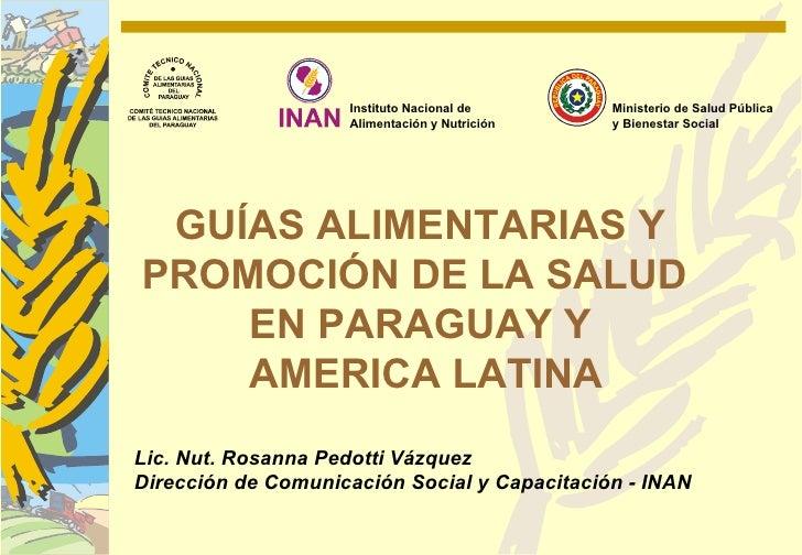 Instituto Nacional de      Ministerio de Salud Pública                    Alimentación y Nutrición   y Bienestar Social GU...