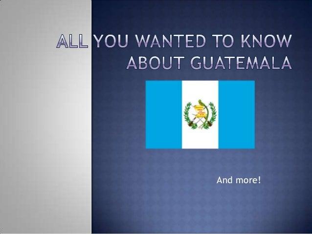 LIFEPOINT Guatemala Introduction