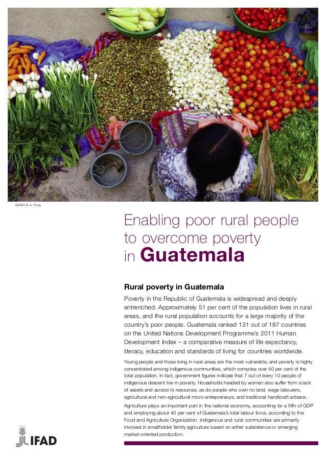 Rural Poverty in Guatemala