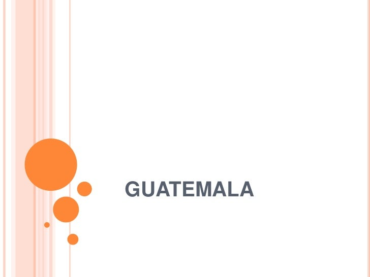GUATEMALA<br />