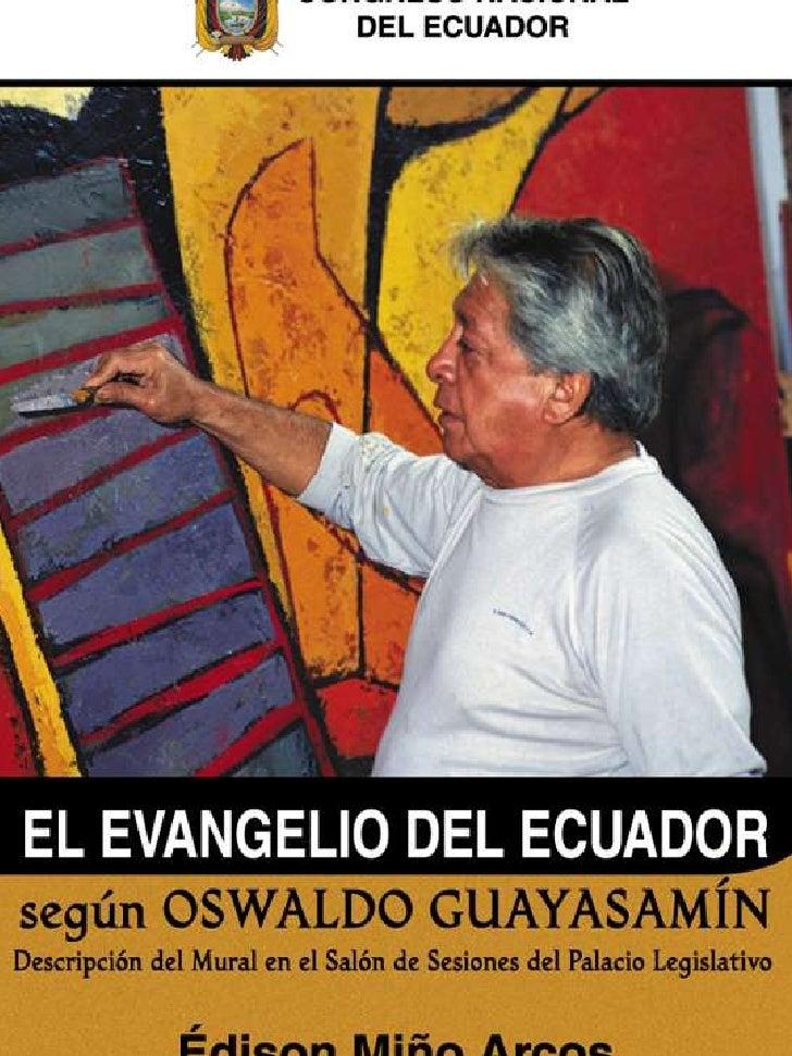 El Evangelio del Ecuador según Oswaldo Guayasamín