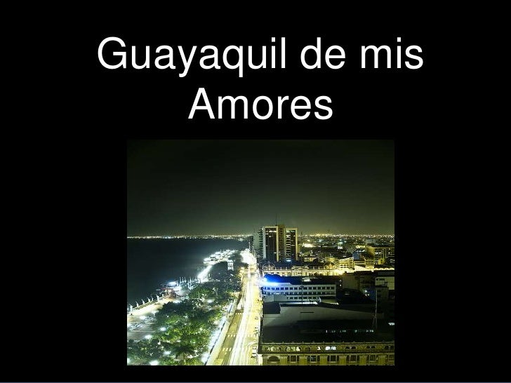 letra de guayaquil de mis: