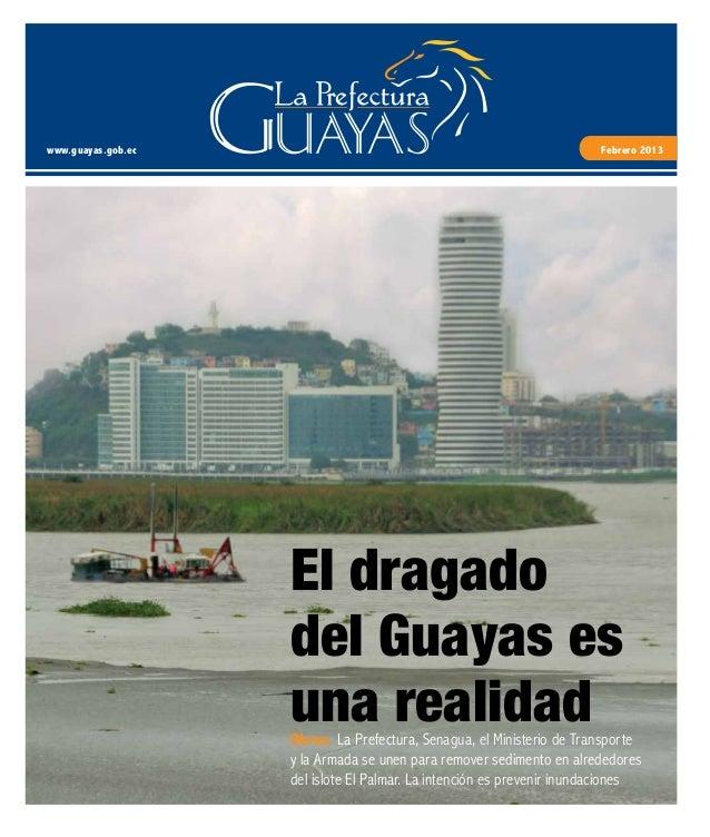 Periódico digital de la Prefectura del Guayas - Febrero 2013