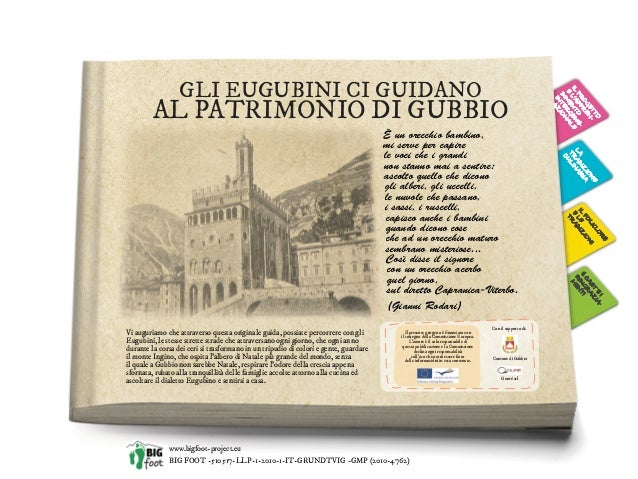 Big Foot Conference. Gubbio Digital Guide to Intangible Heritage