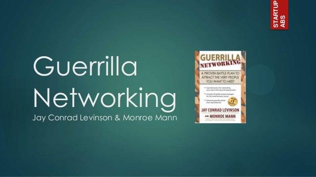 Guerilla Networking