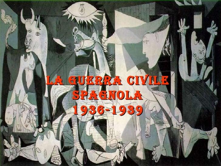 Guerra Civile Spagnola Pps