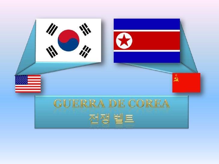 GUERRA DE COREA<br />전쟁 벨트<br />