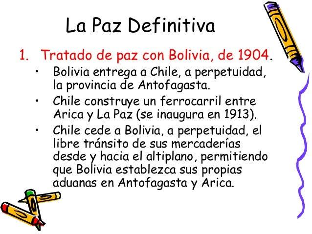 Tinas De Baño La Paz Bolivia:tratado de lima de 1929 tacna volvía a soberanía
