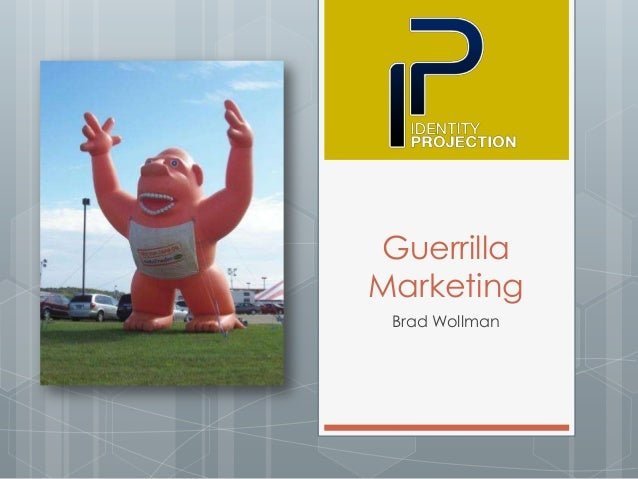 Thesis on guerilla marketing