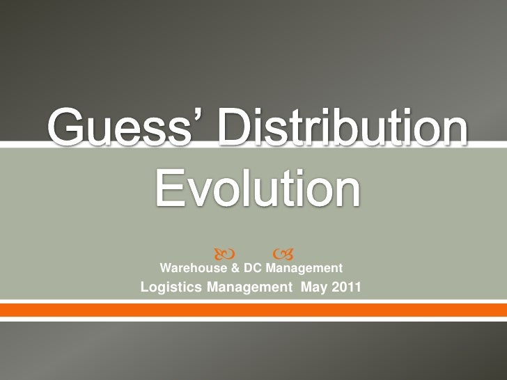          Warehouse & DC ManagementLogistics Management May 2011