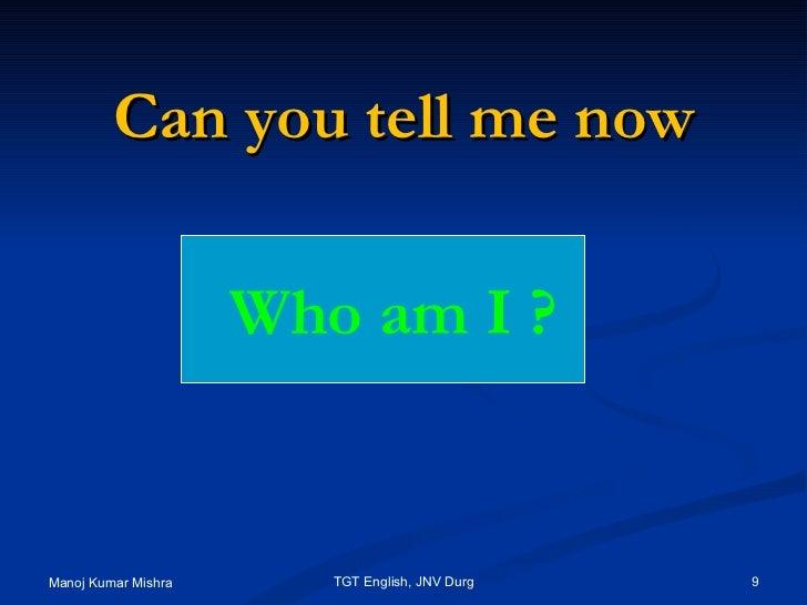 Please help me...who am i?