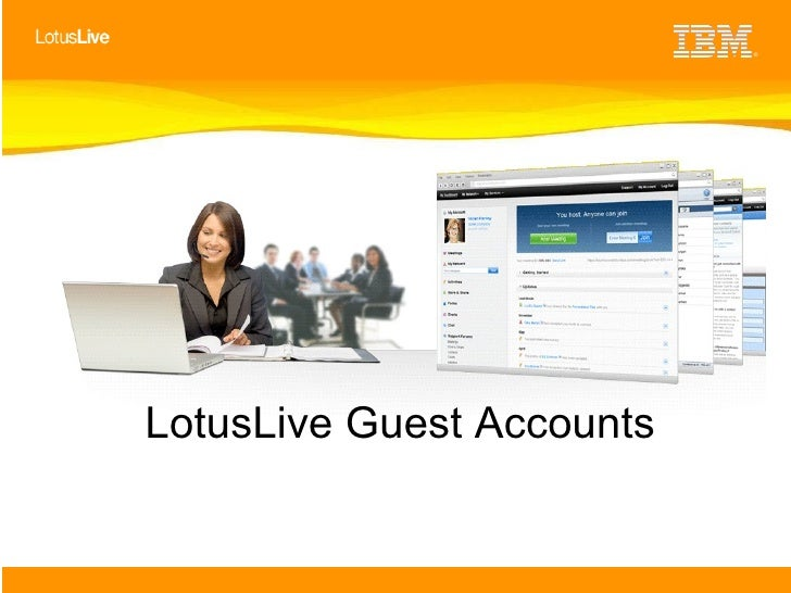 LotusLive Guest Accounts