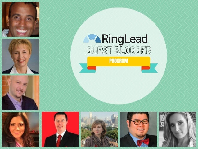 RingLead Guest Blogger Program