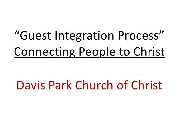 Guest Integration Process 2