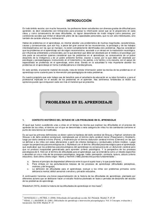 Guia Problemas de Aprendizaje-UNC 2013-2
