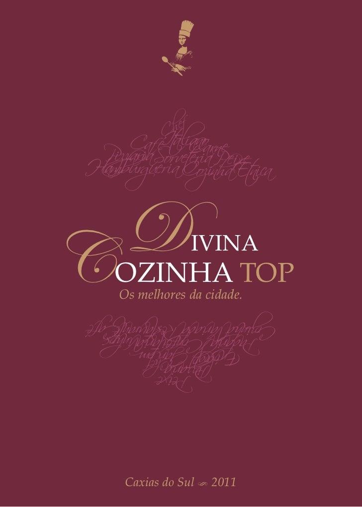 Guia Conceito Divina Cozinha 2011
