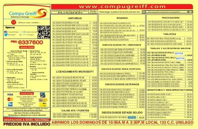 Guia de-precios-compugreiff-julio-29-al-31-2014