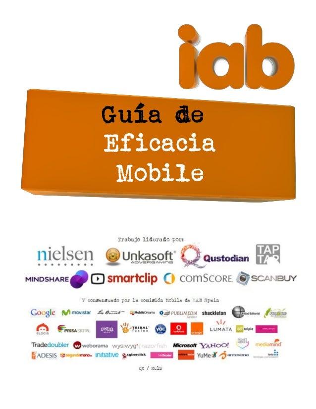 Guía IAB-de Eficacia Mobile 2013