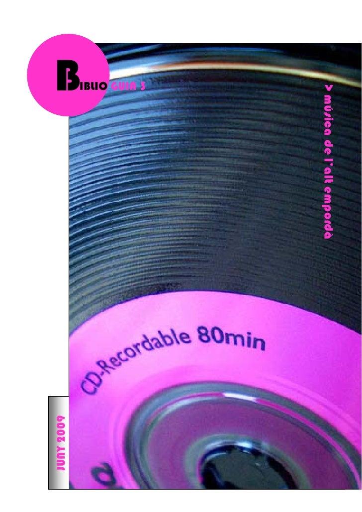 > música de l'alt empordà                                                 1 IBLIO GUIA 3 B                                ...