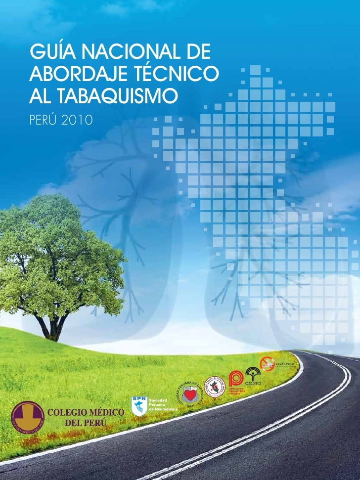 Guia nacional de abordaje del tabaquismo Perú