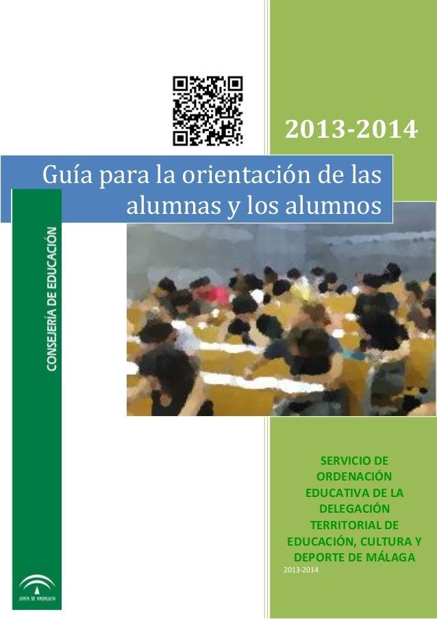 Guia orientacion-2013-2014-malaga