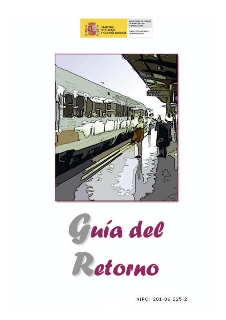 GUIA DEL RETORNO ESPAÑA