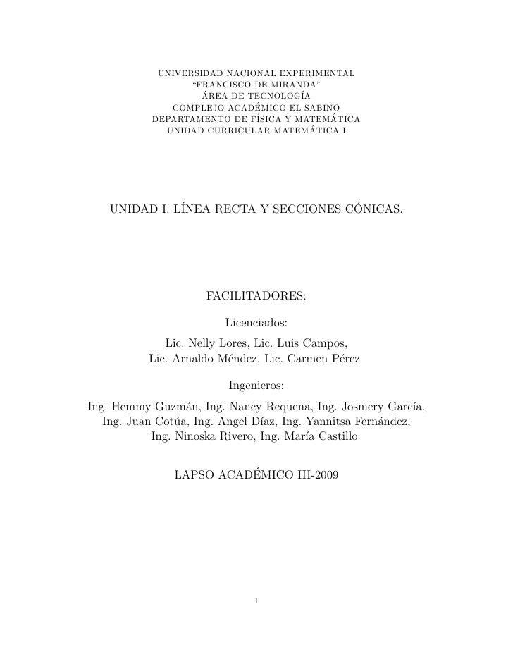 "UNIVERSIDAD NACIONAL EXPERIMENTAL                   ""FRANCISCO DE MIRANDA""                     AREA DE TECNOLOG´          ..."