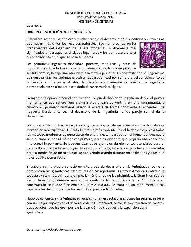 UNIVERSIDAD COOPERATIVA DE COLOMBIA                                   FACULTAD DE INGENIERIA                              ...