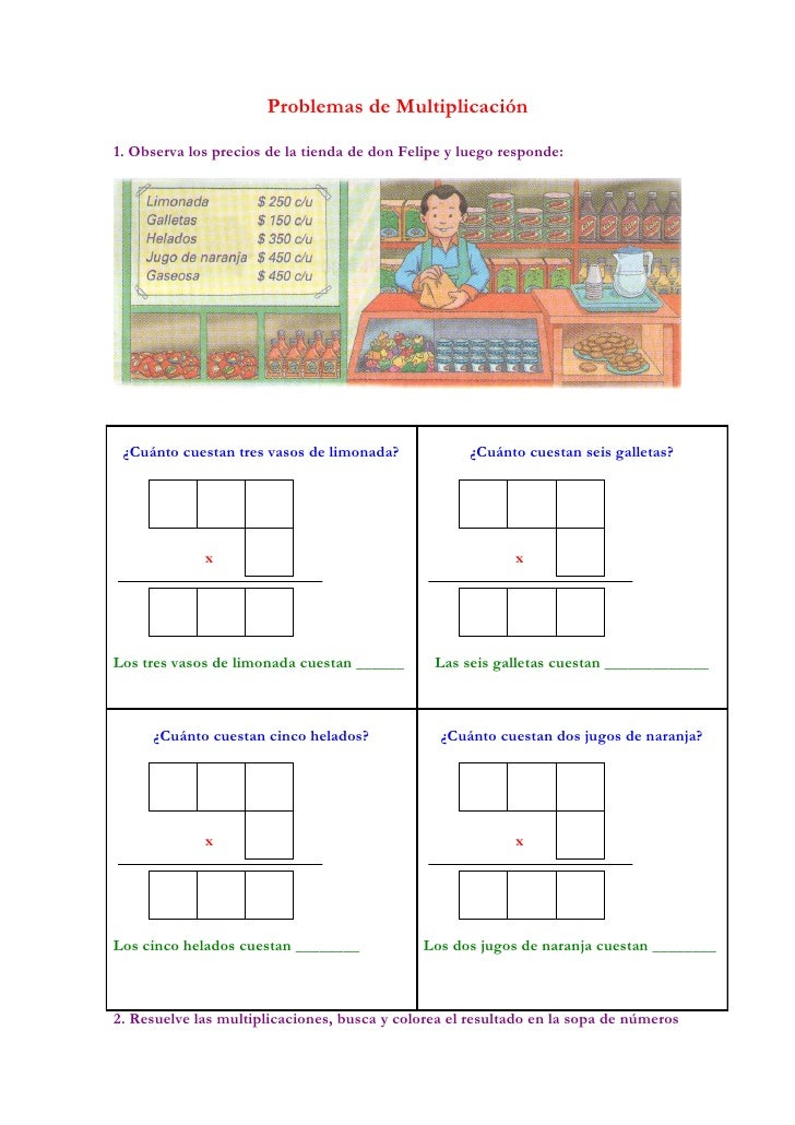 Guia 1 La multiplicacion