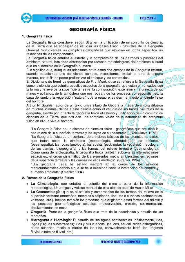 UNIVERSIDAD NACIONAL JOSÉ FAUSTINO SÁNCHEZ CARRIÓN - HUACHO                 CICLO 2013 - I                                ...