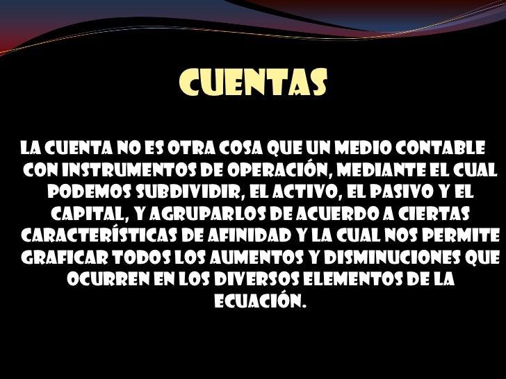 CUENTAS T