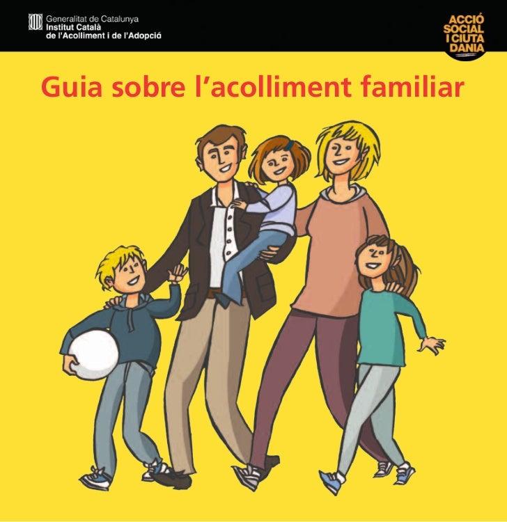 Guia sobre l'acolliment familiar               1