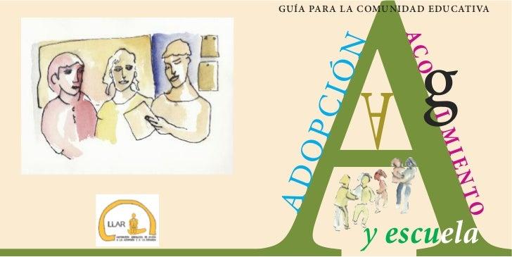Guia adopcion, acogimiento y escuela