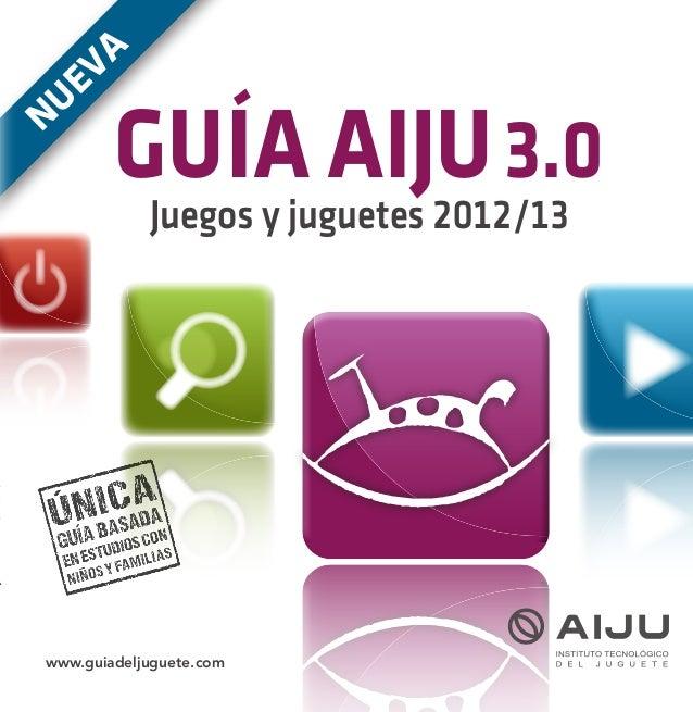 Guia AIJU  Navidad 2012 Reyes 2013