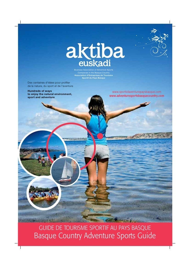 2010 Basque Country Active Tourism and Adventure Sports Guide