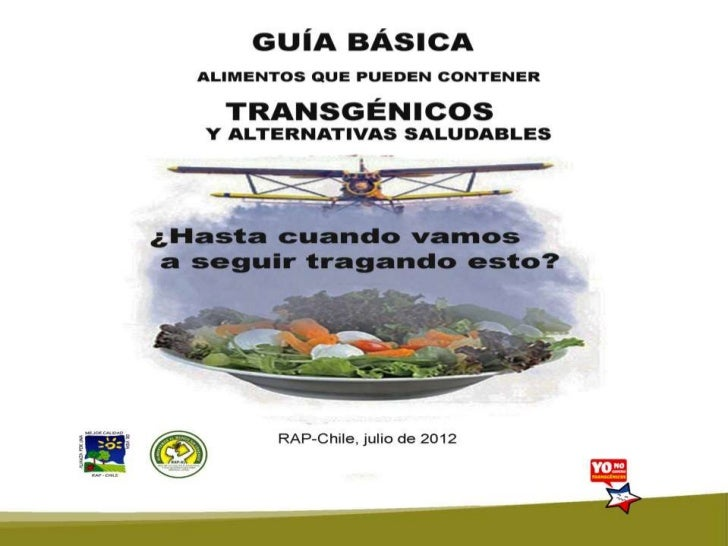 Guia Alimentos Transgenicos julio2012_Chile