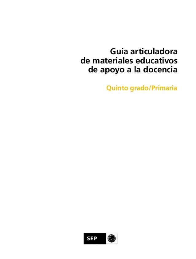 Guia articuladora 5 2013 - 2014