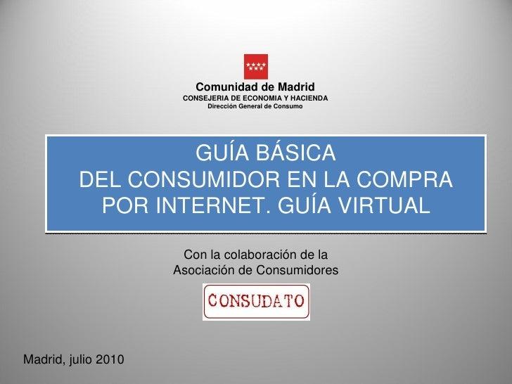 Comunidad de Madrid                       CONSEJERIA DE ECONOMIA Y HACIENDA                            Dirección General d...