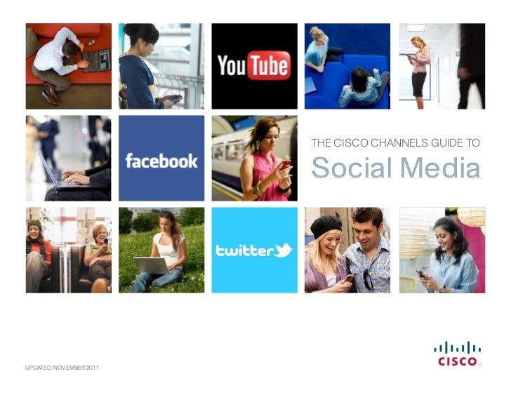 Guía de Canales de Cisco para los medios de comunicación social